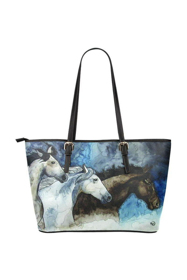 three horses Kim Winberry art tote bag