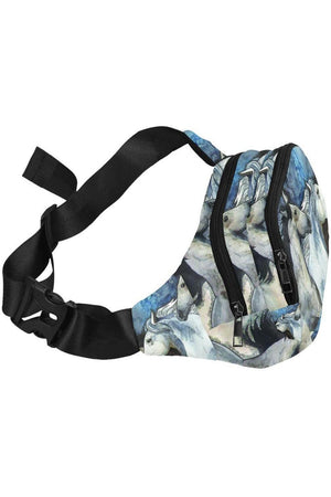 Three Wild Horses Fanny Pack Unisex-Waist Bags-interestprint-One Size-Three Wild Horses