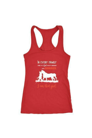 I Am That Girl - Tops-Tops-teelaunch-Racerback Tank-Red-S-Three Wild Horses