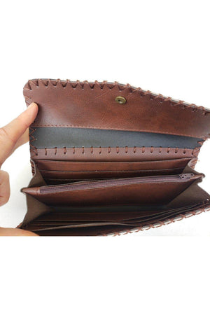 Fancy Horse PU Leather Ladies Wallet