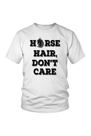Lavender Horse Hair Don't Care T-Shirt