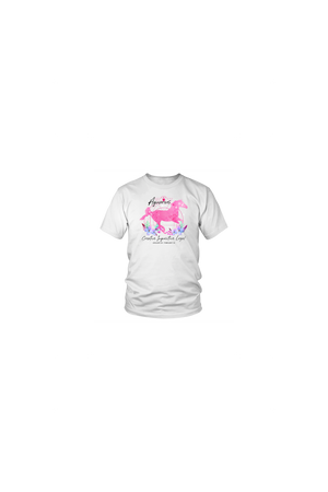 Aquarius Zodiac Horse Unisex Shirt-T-shirt-teelaunch-District Unisex Shirt-White-S-Three Wild Horses