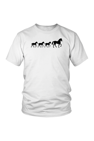 Lavender Three Foal - T-Shirt