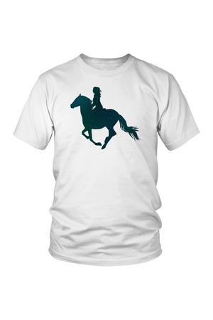 Lavender Horse Riding T-Shirt