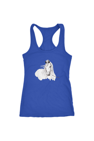 Day Dreaming - Tops-Tops-teelaunch-Racerback Tank-Royal Blue-S-Three Wild Horses