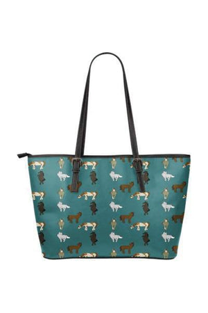 Horse Water Resistant Tote Bag-Tote Bags-Pillow Profits-8-Three Wild Horses