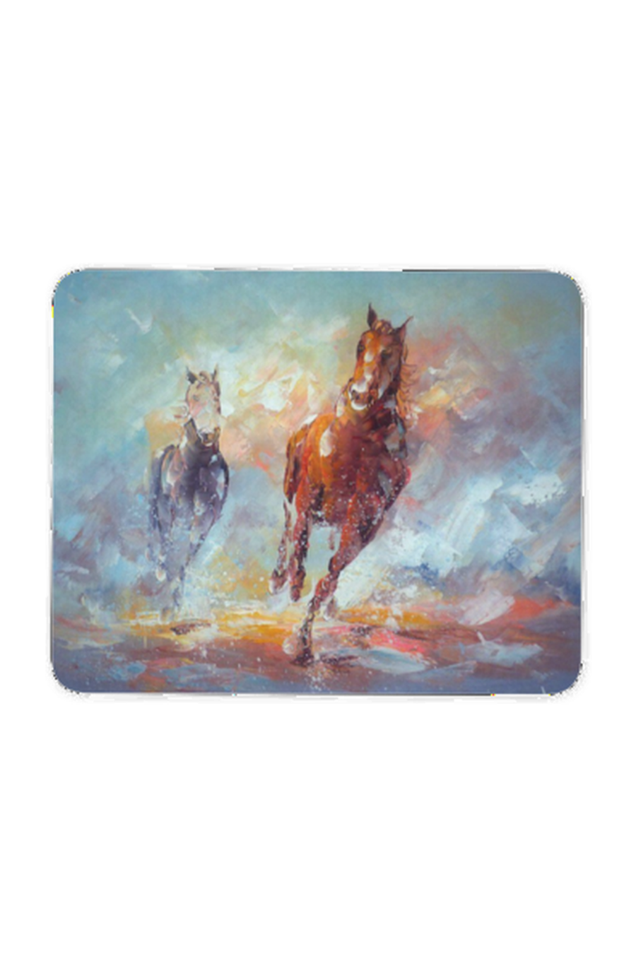 Running in the Rain - Mouse pad