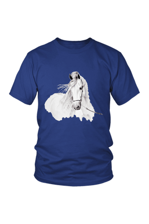 Day Dreaming - Tops-Tops-teelaunch-Unisex Tee-Royal Blue-S-Three Wild Horses