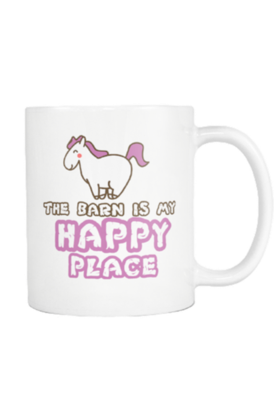 The Barn Is My Happy Place - Mug