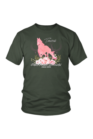 Taurus Horse Unisex Shirt-T-shirt-teelaunch-District Unisex Shirt-Olive-S-Three Wild Horses