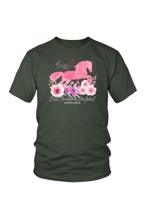 Aries Horse Unisex Shirt-T-shirt-teelaunch-District Unisex Shirt-Olive-S-Three Wild Horses