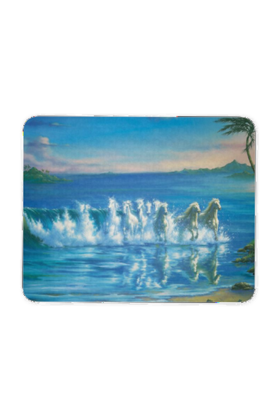 Run with the Waves - Mouse pad