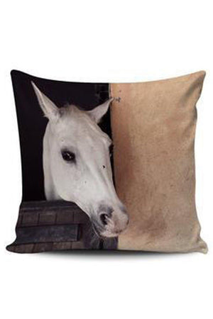 Dim Gray Premium Poly-Cotton Cushion Cover