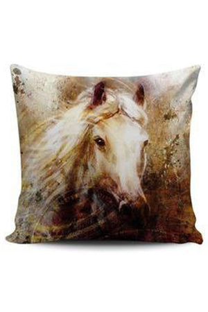 Rosy Brown Premium Poly-Cotton Cushion Cover