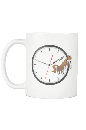 My Kind of Happy Hour - Mug-Drinkware-teelaunch-COFFEE MUG 11 OZ-Three Wild Horses