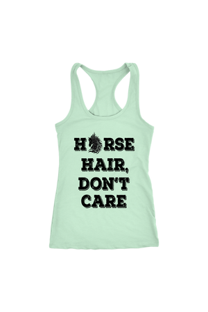 Light Gray Horse Hair Don't Care T-Shirt