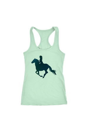 Light Gray Horse Riding T-Shirt