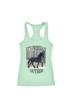 Light Gray It's Friesian Outside T-Shirt