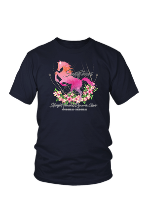Sagittarius Horse Unisex Shirt-T-shirt-teelaunch-District Unisex Shirt-Navy-S-Three Wild Horses