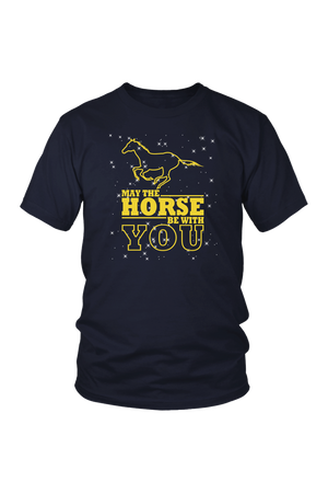 Black May The Horse Be With You - T-Shirt