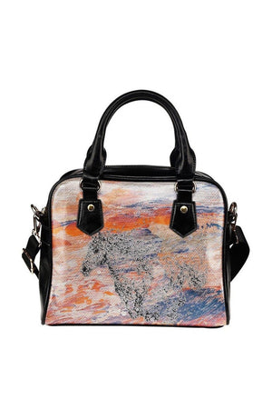 Sienna Horse Art Shoulder Handbag