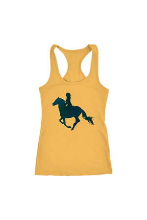 Sandy Brown Horse Riding T-Shirt