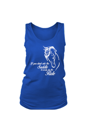 Horse Riding - Tank Tops-Tops-teelaunch-Royal Blue-S-Three Wild Horses