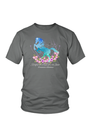 Sagittarius Horse Unisex Shirt-T-shirt-teelaunch-District Unisex Shirt-Grey-S-Three Wild Horses