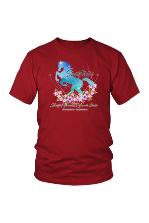 Sagittarius Horse Unisex Shirt-T-shirt-teelaunch-District Unisex Shirt-Red-S-Three Wild Horses
