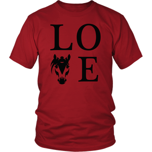 Brown Horse Love T-Shirt