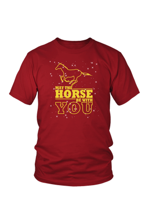 Brown May The Horse Be With You - T-Shirt