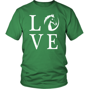 Sea Green Horse Love T-Shirt