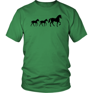 Sea Green Two Foal - T-Shirt