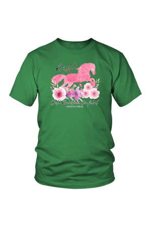 Aries Horse Unisex Shirt-T-shirt-teelaunch-District Unisex Shirt-Kelly Green-S-Three Wild Horses
