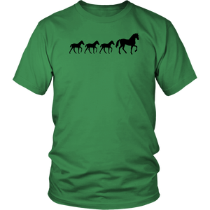 Sea Green Three Foal - T-Shirt