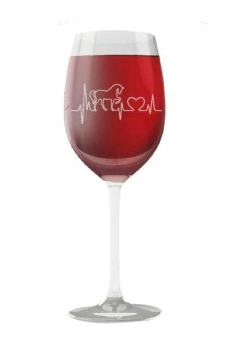Horsebeat - Wine Glass