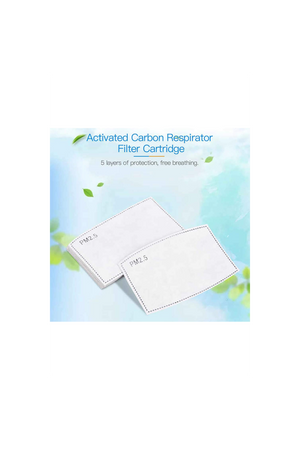 Lavender Filters Set of Ten  PM2.5 Five-Layer Activated Carbon Filters