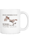 Horses Will Never Break Your Heart - Mug