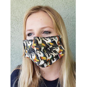 Horse Theme Face Mask + Pegasus-Health & Wellness-Three Wild Horses-Three Wild Horses
