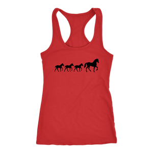 Firebrick Three Foal - T-Shirt