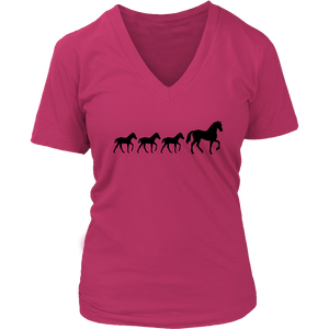 Maroon Three Foal - T-Shirt