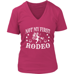 Maroon Not My First Rodeo - T-Shirt