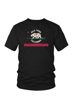 Black Wild Thing Californa T-Shirt in Black