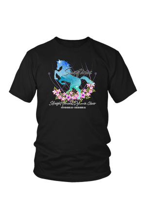Sagittarius Horse Unisex Shirt-T-shirt-teelaunch-District Unisex Shirt-Black-S-Three Wild Horses