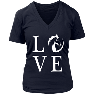 Black Horse Love T-Shirt