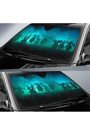 Light Sea Green Warrior Sun Shade