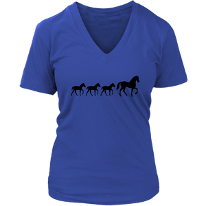 Dark Slate Blue Three Foal - T-Shirt