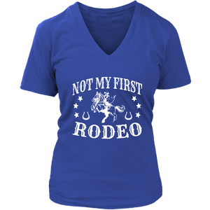 Dark Slate Blue Not My First Rodeo - T-Shirt