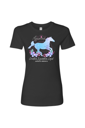 Aquarius Horse Shirt for Women-T-shirt-teelaunch-Next Level Womens Shirt-Heavy Metal-S-Three Wild Horses
