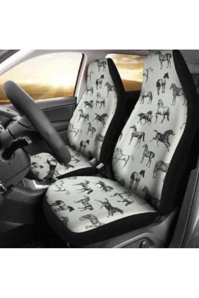 Horses Pattern Car Seat Covers
